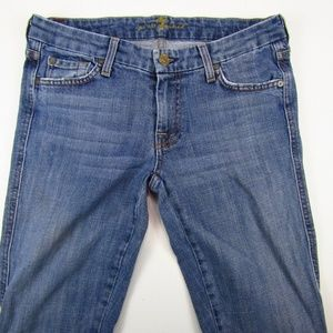 7 For All Mankind Jeans - 7 For All Mankind Bootcut A Pocket Womens Jeans